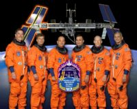 STS-117 Official NASA Crew Portrait (Prior to crew change)